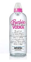 barbie absolut vodka bottle