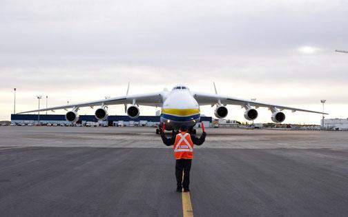 antonov an-225 at yyc