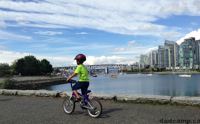 Bike Riding Seawall