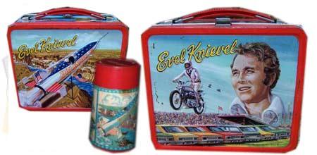 Evel Knievel Lunch Box