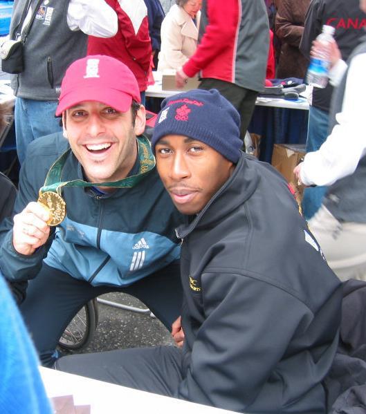 Buzz Bishop and Robert Esmie