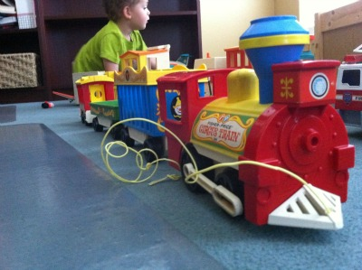 Fisher Price toy train