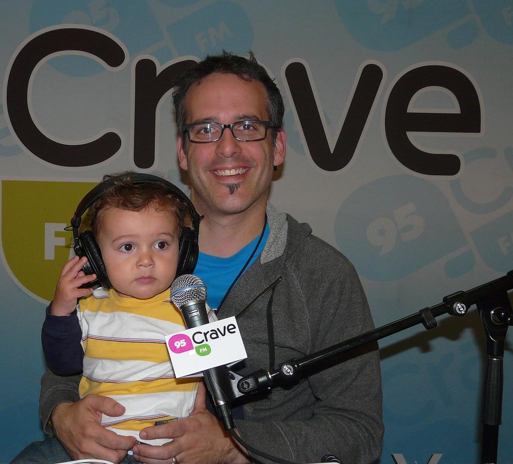 Zacharie on air
