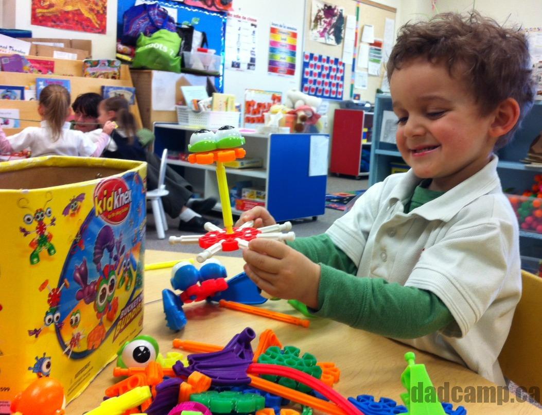 charlie in preschool