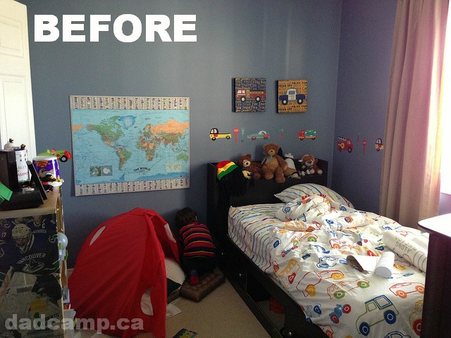 zacharie room before