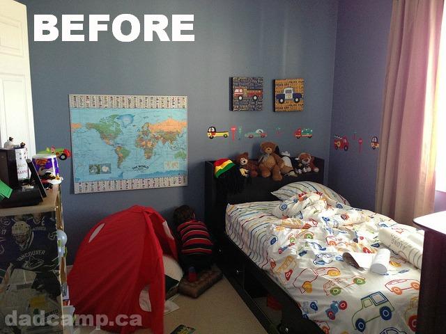 zacharie room before