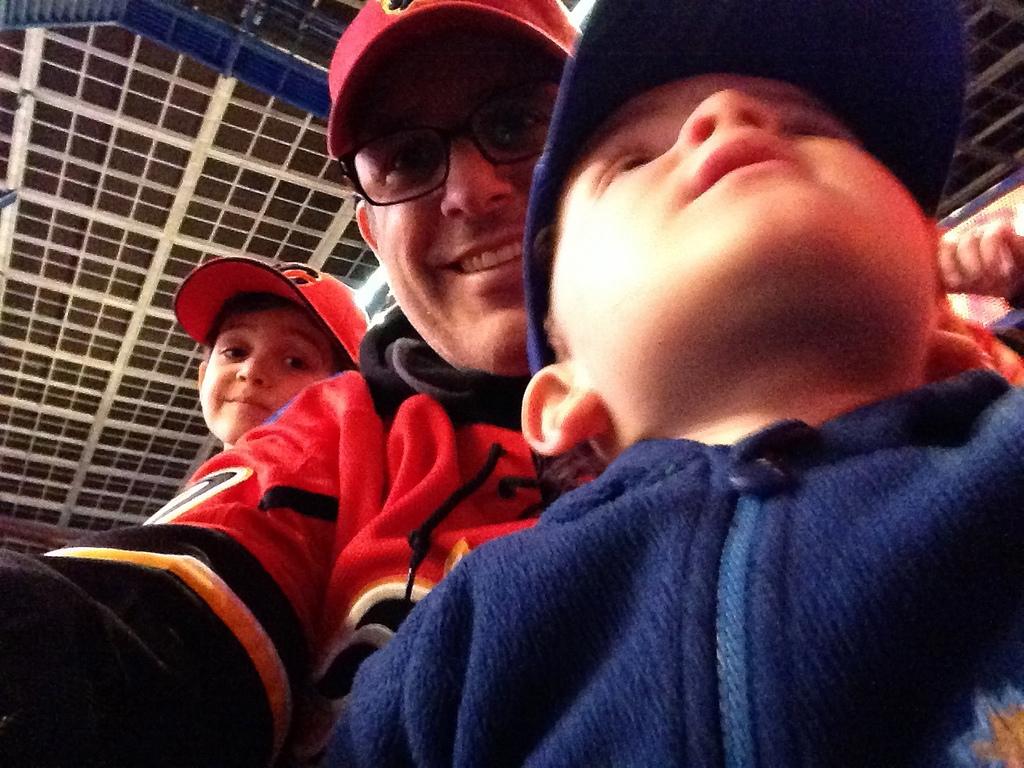 boys at hockey