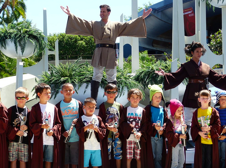 jedi academy at disneyland