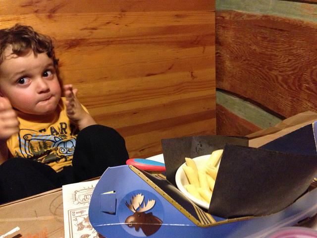 kid restaurant Montana's