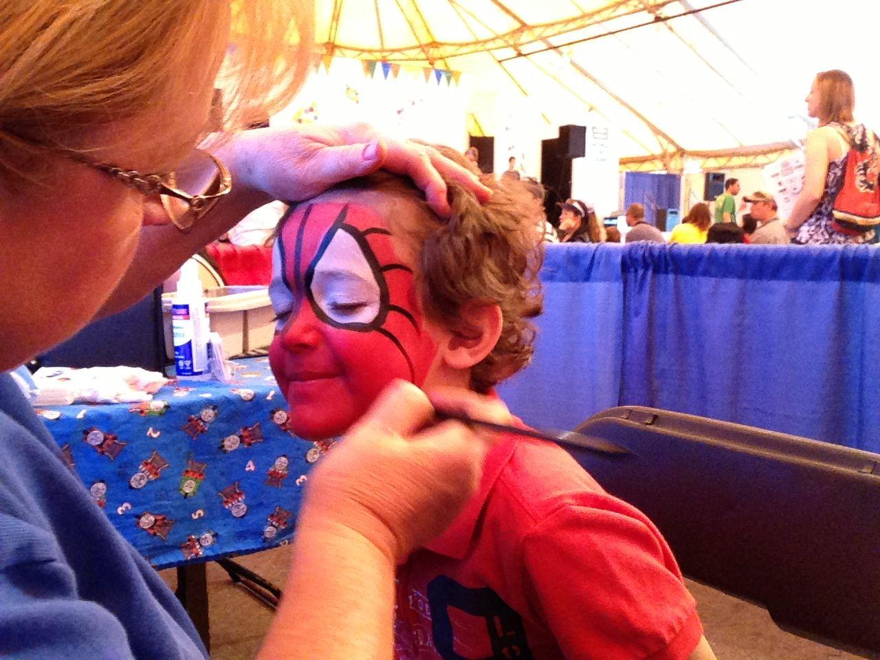 zacharie spider-man dadcamp