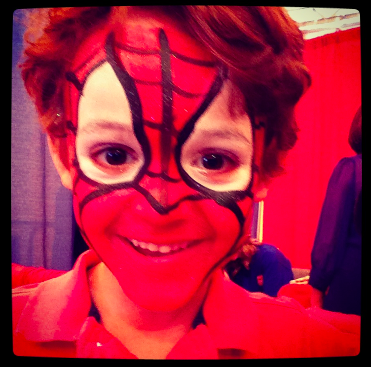zacharie spider-man dadcamp