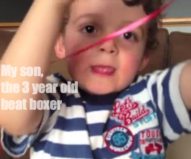 3 Year Old Beat Boxer