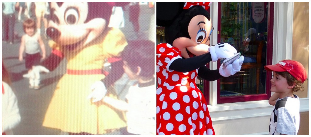 Minnie Mouse 1975 vs 2013