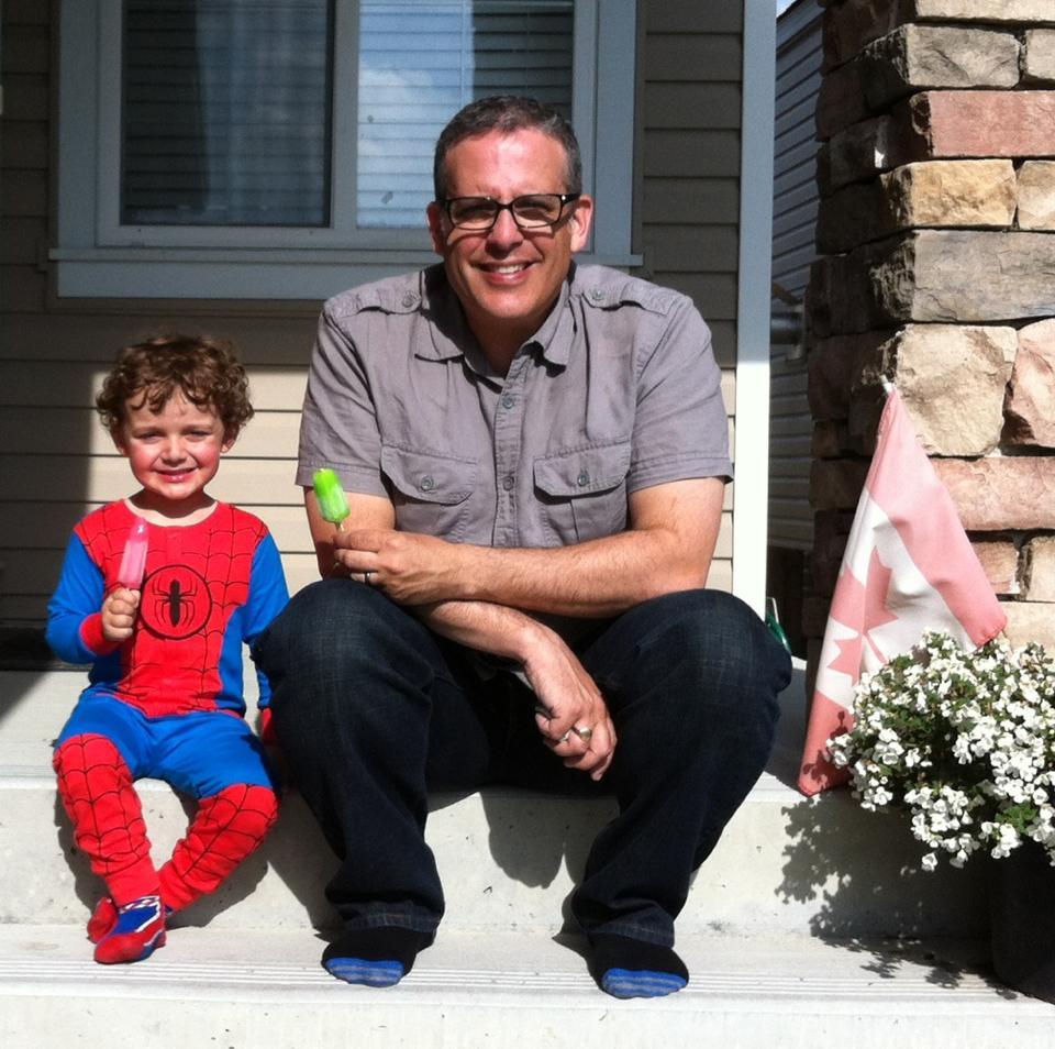 spider-man popsicle
