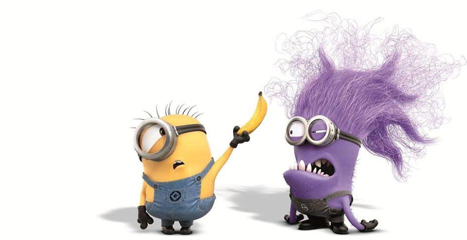 scary purple minions