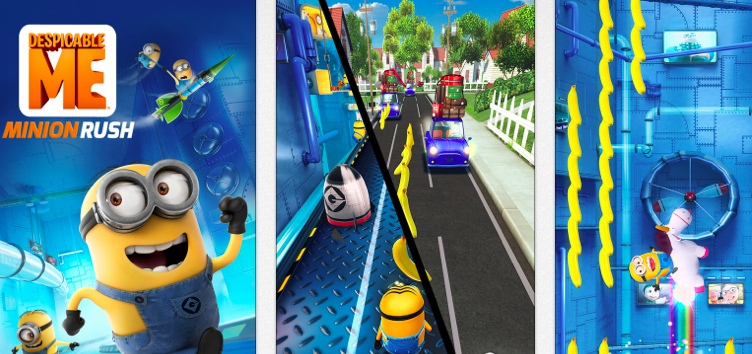 Despicable Me 2 app: Minion Rush