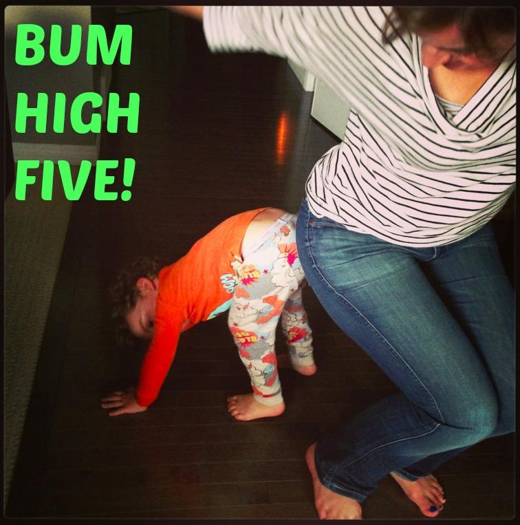 What's A Bum High Five?