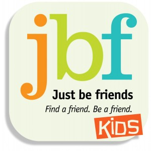 just be friends kids logo