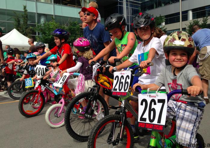 speed theory kids crit bike race calgary