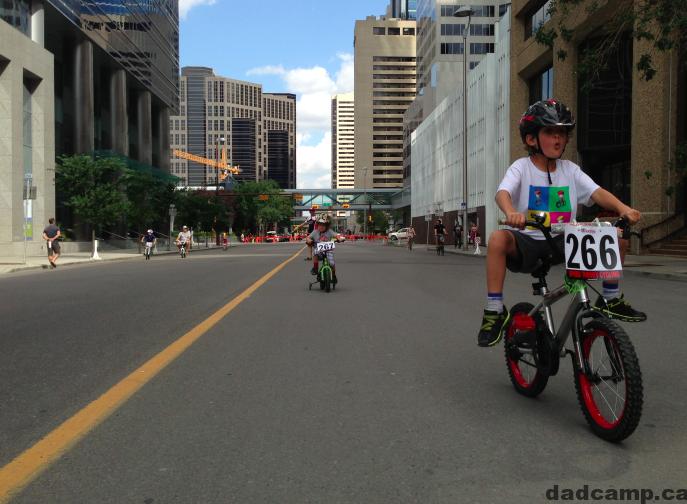 kids crit speed theory calgary bike race