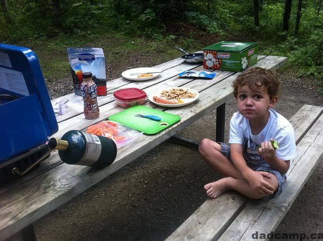 i suck at camping