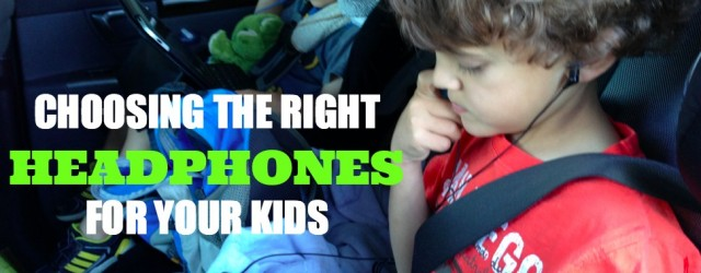 Choosing The Right Headphones For Your Kids