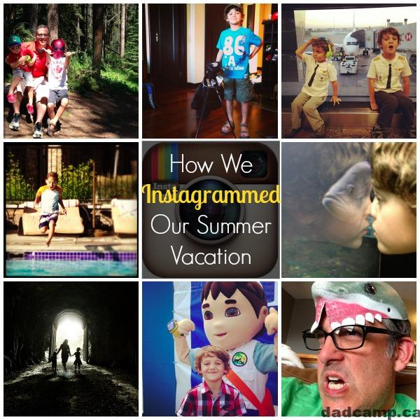 how we instagrammed our summer vacation