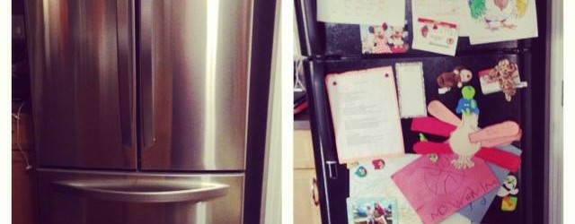 How To Make a Stainless Steel Fridge Family Friendly