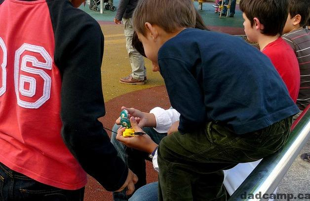 beyblades and kids and the pressure of peer parenting