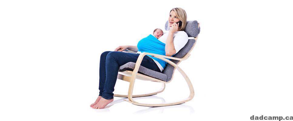 Sleep Belt Helps Moms Have Hands Free Snuggling