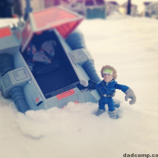 Taking a trip to Hoth
