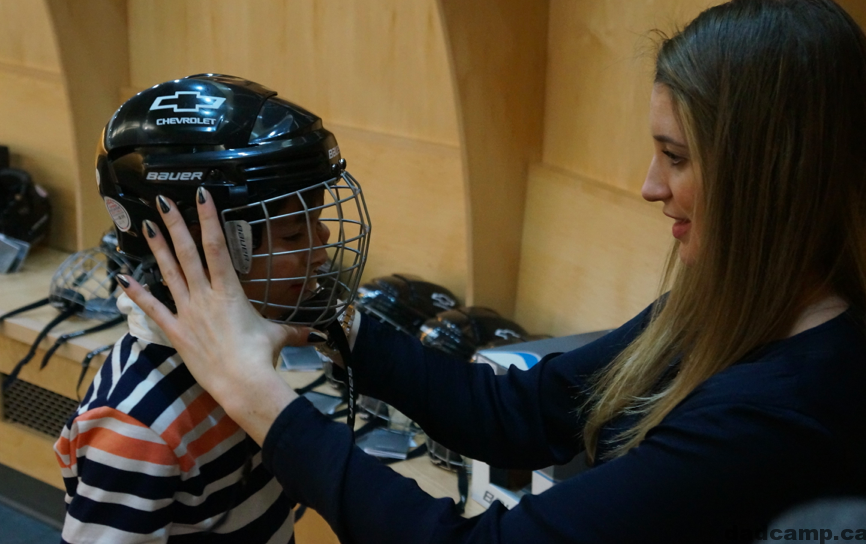 How To Fit A Hockey Helmet