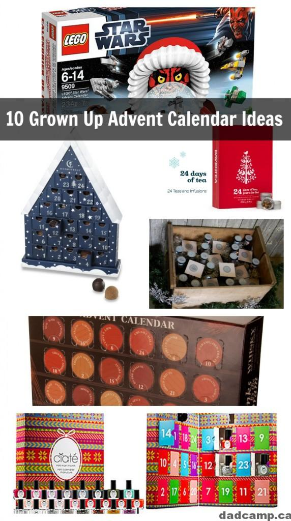 10 Grown Up Advent Calendar Ideas