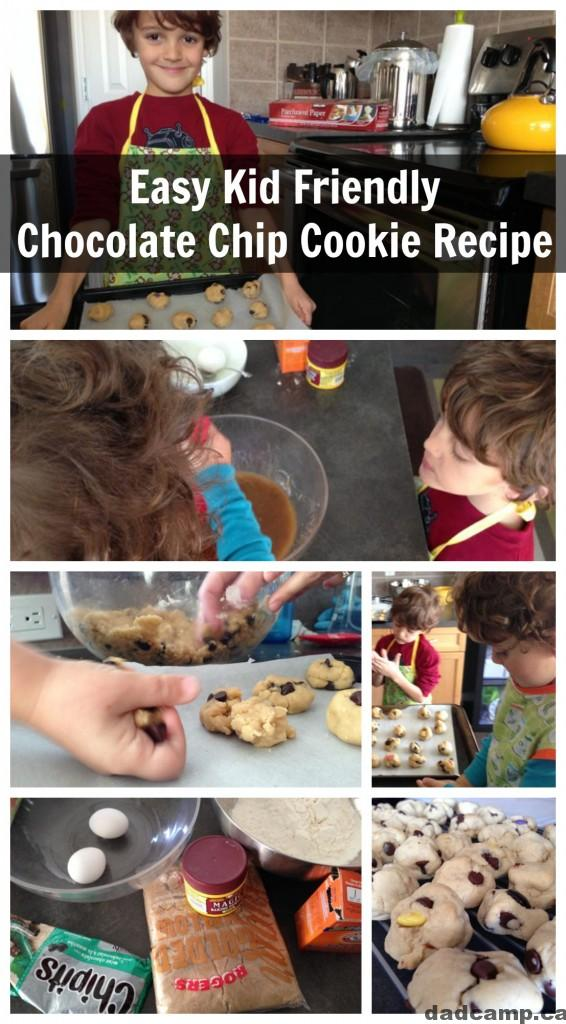 Kid Friendly  Chocolate Chip Cookies Recipe