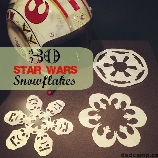 30 Free Star Wars Snowflakes Printables