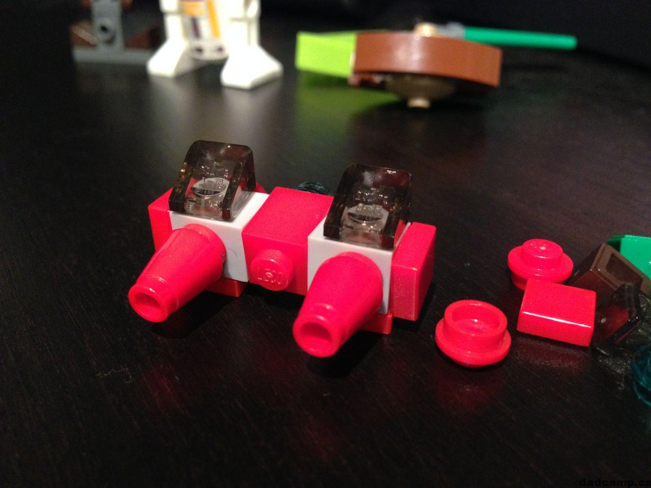 2013 Star Wars LEGO Advent Calendar Cloud Car