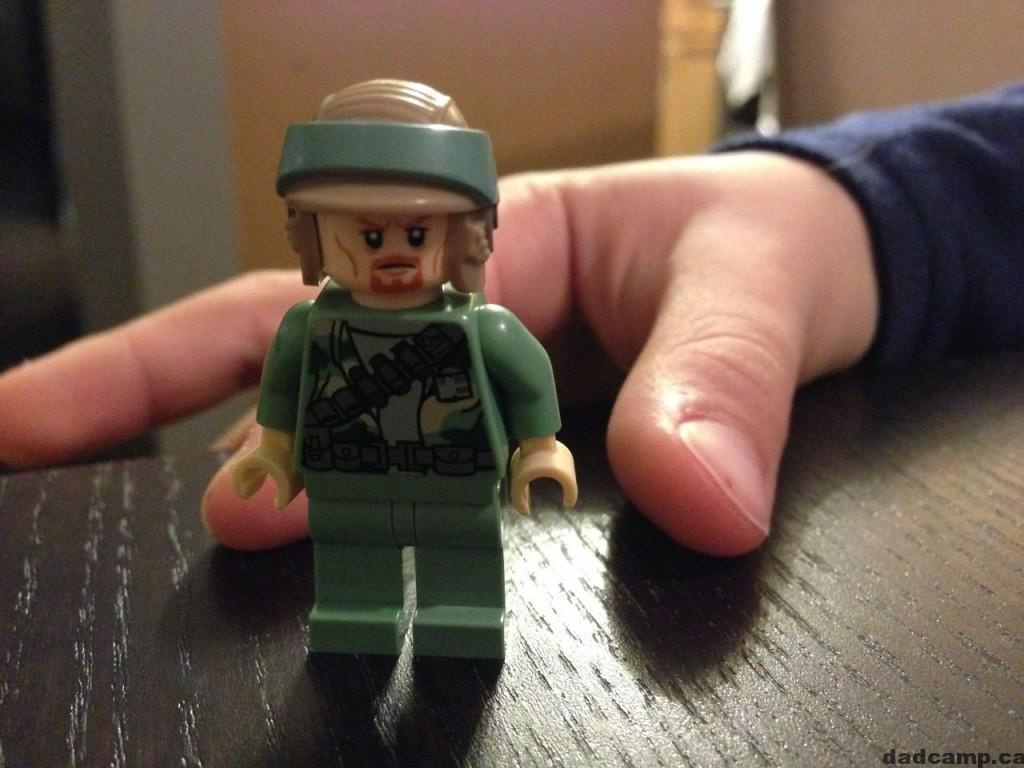2013 Star Wars LEGO Avent Calendar Rebel Commando