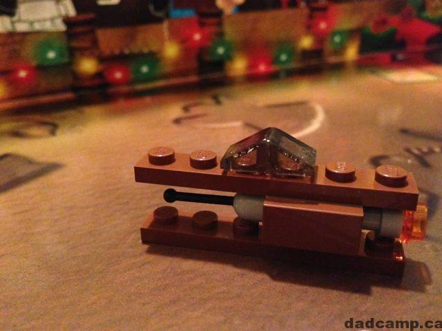 Star Wars LEGO Advent Calendar Geonosian Fighter