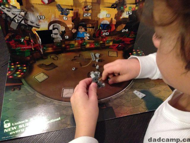 Star Wars LEGO Advent Calendar Naboo Star Skiff