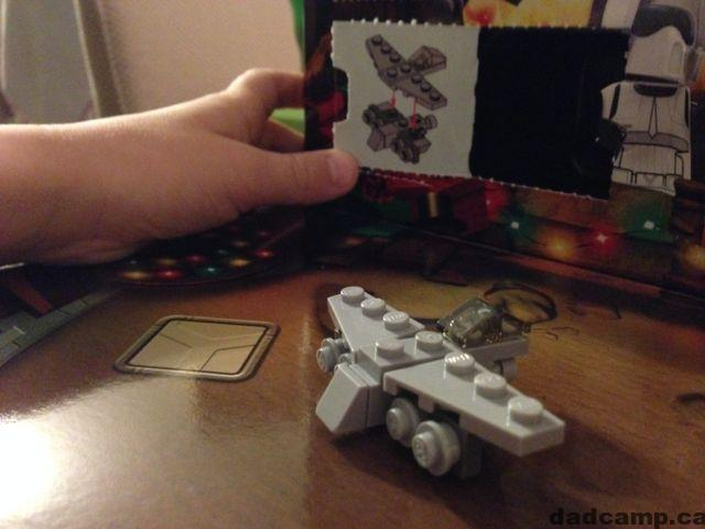 Star Wars Advent Calendar Star Skiff