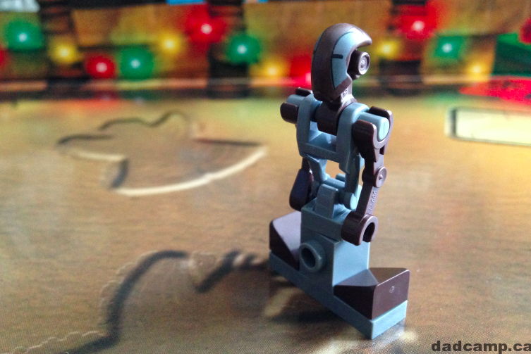 2013 Star Wars Lego Advent Calendar: December 3 Droid FA-4
