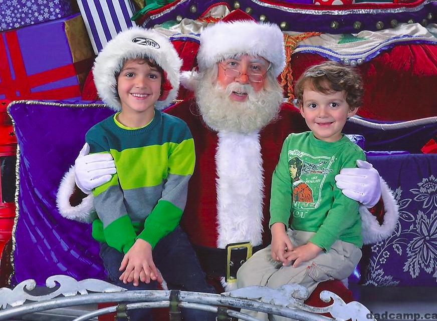 Santa Claus Zacharie Charlie