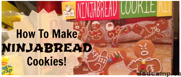 How To Make Ninjabread Cookies