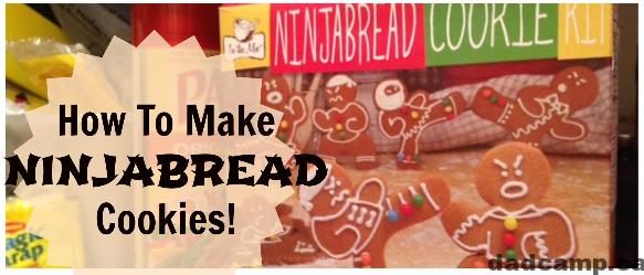 How To Make Ninjabread Cookies