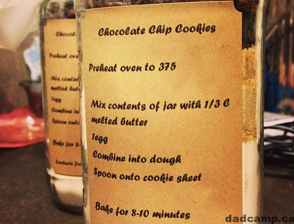 Mason Jar Cookie Mix Recipe
