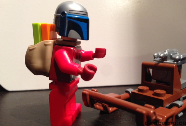 Star Wars LEGO Advent Calendar Jango Fett Santa