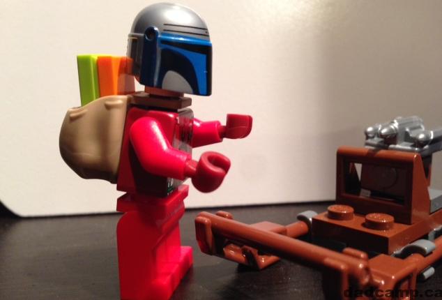 Star Wars LEGO Advent Calendar Jango Fett Santa