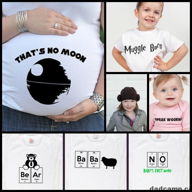 Family Friendly Geek Gear From Geekling Designs