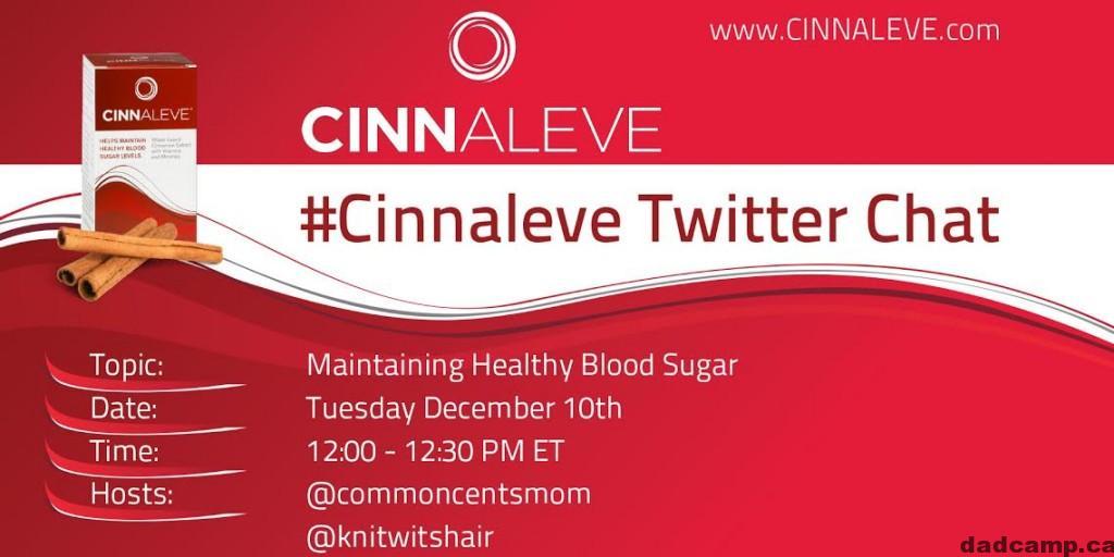 Cinnaleve Twitter Chat