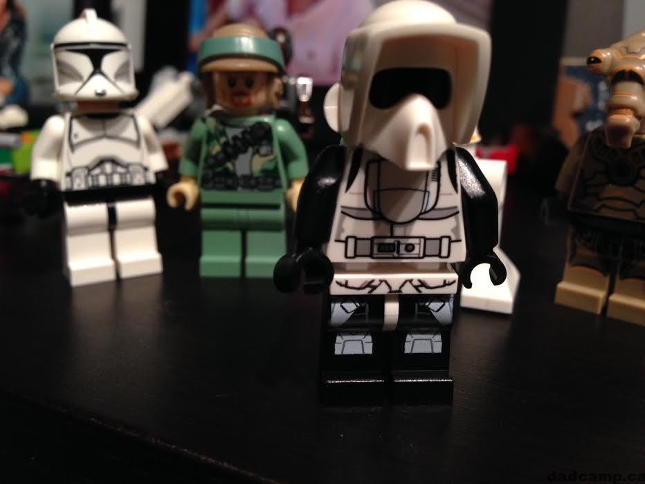 Star Wars LEGO Advent Calendar Scout Trooper